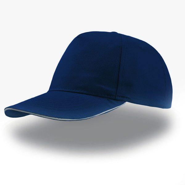Бейсболка START FIVE SANDWICH темно-синяя с нанесением логотипа