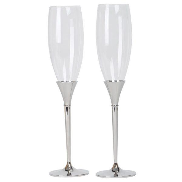 Бокалы для шампанского Asti с нанесением логотипа