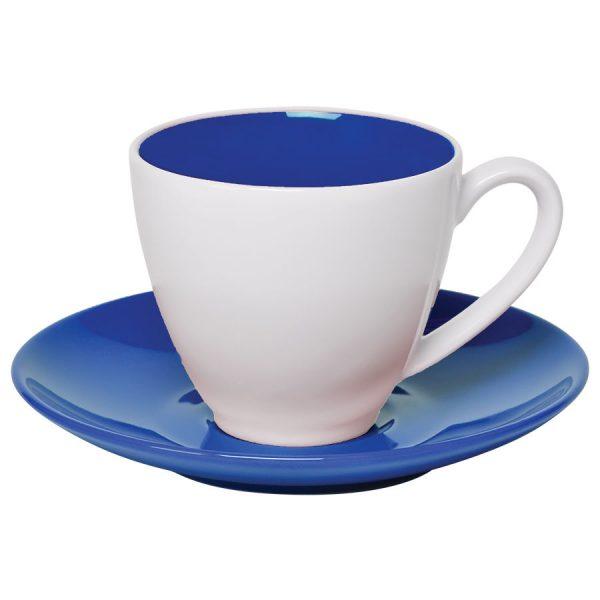 Чайная пара Galena синий-белый