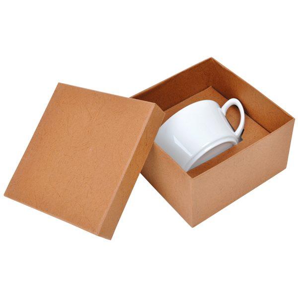 Чайная пара Смайл из фарфора в подарочной упаковке с нанесением логотипа