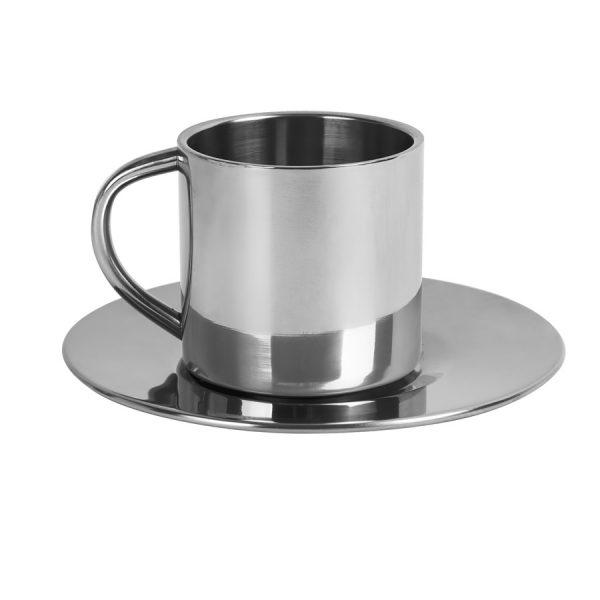 Кофейная пара Coffemania из металла с нанесением логотипа
