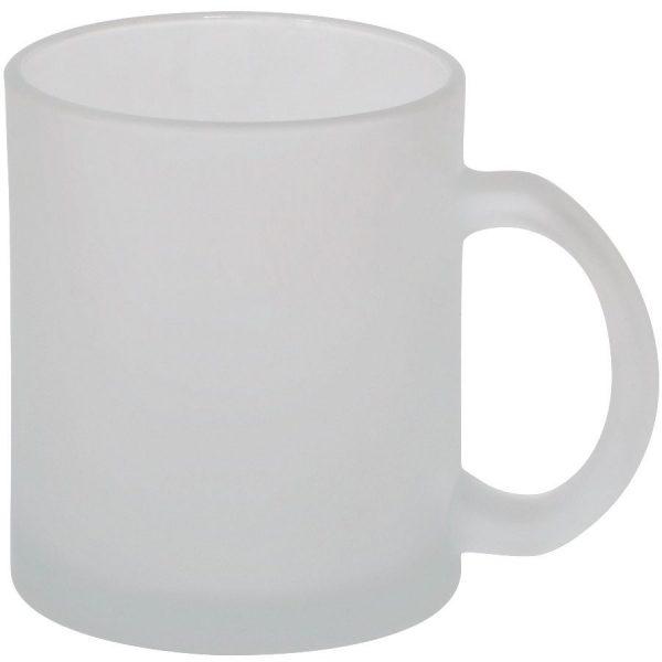 Кружка Frost из стекла с нанесением логотипа