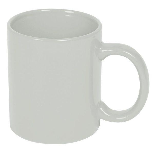 Кружка керамическая белая с нанесением логотипа