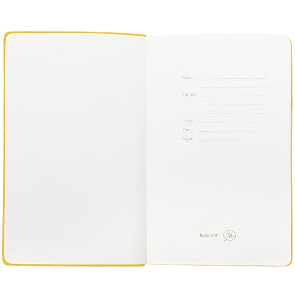 Бизнес-блокнот А5 Classic, твердая обложка, линейка развертка 3