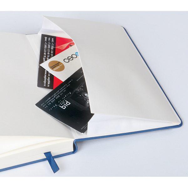 Бизнес-блокнот А5 Classic, твердая обложка, линейка развертка 4