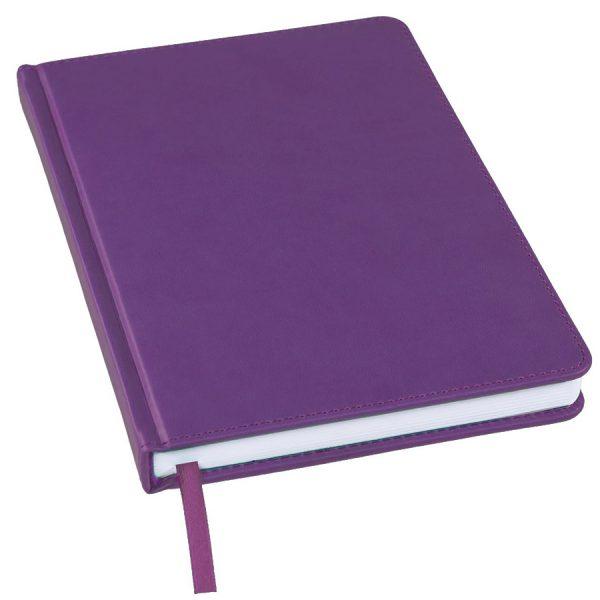Ежедневник не датированный Bliss, А5 фиолетовый