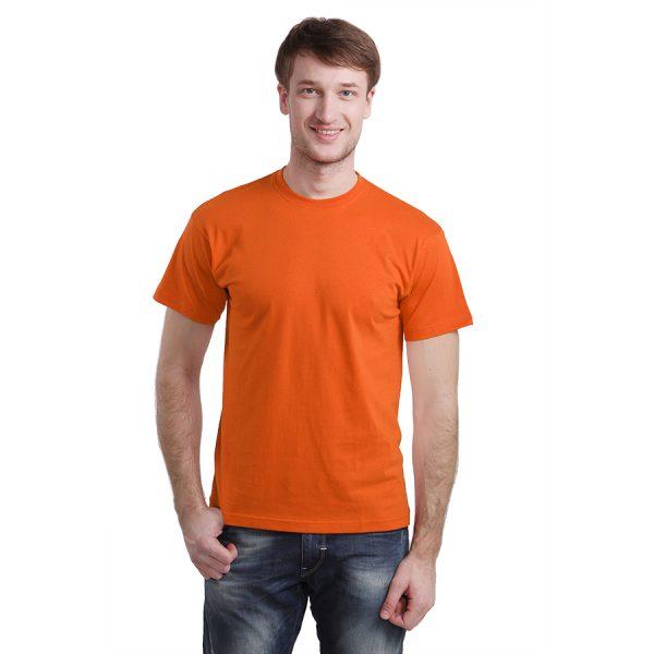 Футболка бесшовная Start оранжевая пример