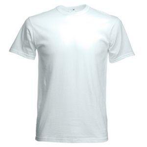 Футболка мужская Original Full-Cut T белая с нанесением логотипа