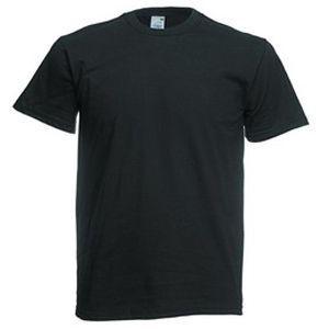 Футболка мужская Original Full-Cut T черная с нанесением логотипа