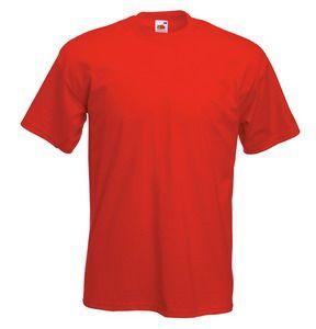 Футболка мужская Original Full-Cut T красная с нанесением логотипа