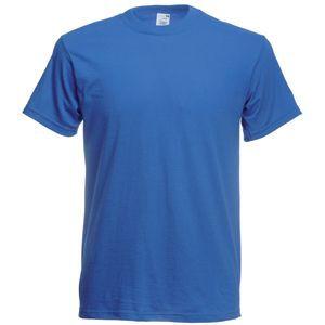 Футболка мужская Original Full-Cut T синяя с нанесением логотипа