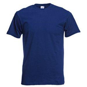 Футболка мужская Original Full-Cut T темно-синяя с нанесением логотипа