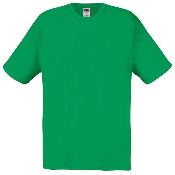 Футболка мужская Original Full-Cut T зеленая с нанесением логотипа