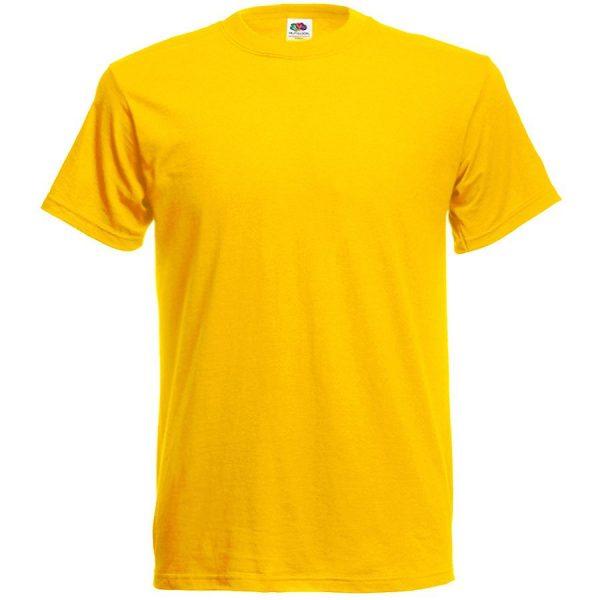 Футболка мужская Original Full-Cut T желтая с нанесением логотипа