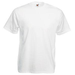 Футболка мужская Valueweight T белая с нанесением логотипа