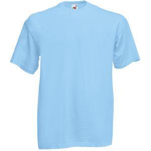 Футболка мужская Valueweight T голубая с нанесением логотипа