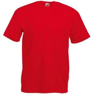 Футболка мужская Valueweight T красная с нанесением логотипа
