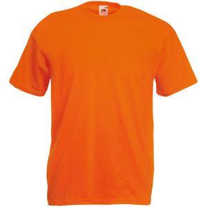 Футболка мужская Valueweight T оранжевая с нанесением логотипа