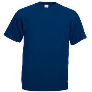 Футболка мужская Valueweight T темно-синяя с нанесением логотипа