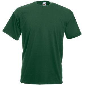 Футболка мужская Valueweight T темно-зеленая с нанесением логотипа