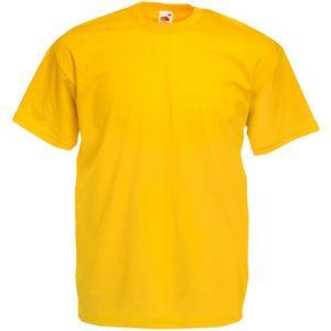 Футболка мужская Valueweight T желтая с нанесением логотипа
