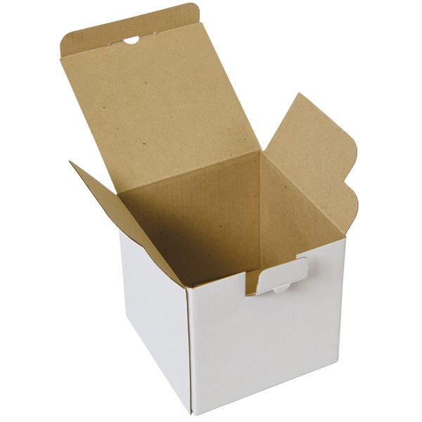 Коробка подарочная для кружки, микрогофрокартон развертка 2