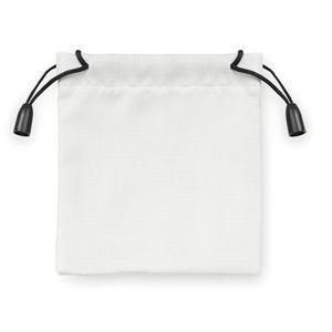 Мешочек подарочный белый с нанесением логотипа