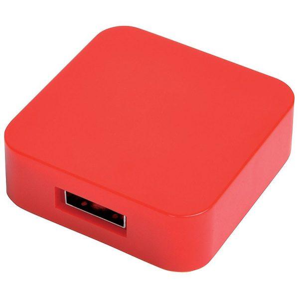 USB flash-карта Akor (8Гб) красная с нанесением логотипа