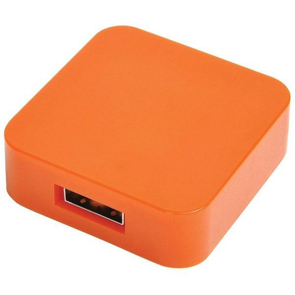 USB flash-карта Akor (8Гб) оранжевая с нанесением логотипа