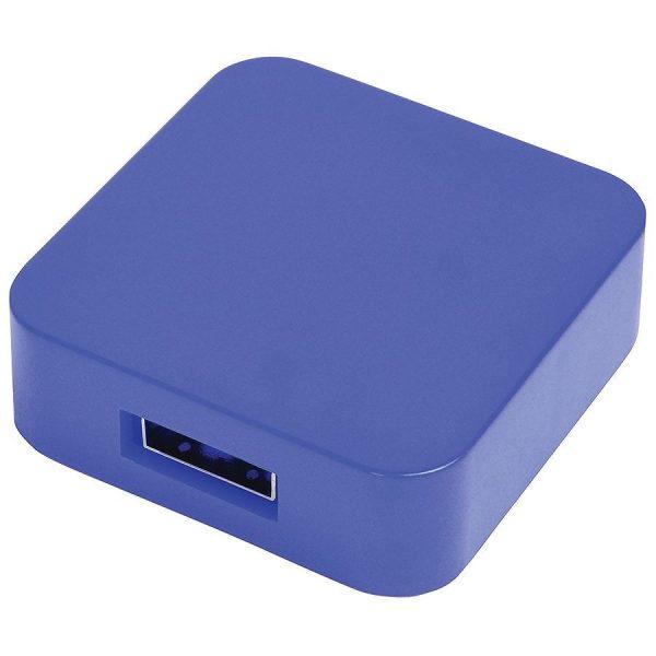 USB flash-карта Akor (8Гб) синяя с нанесением логотипа