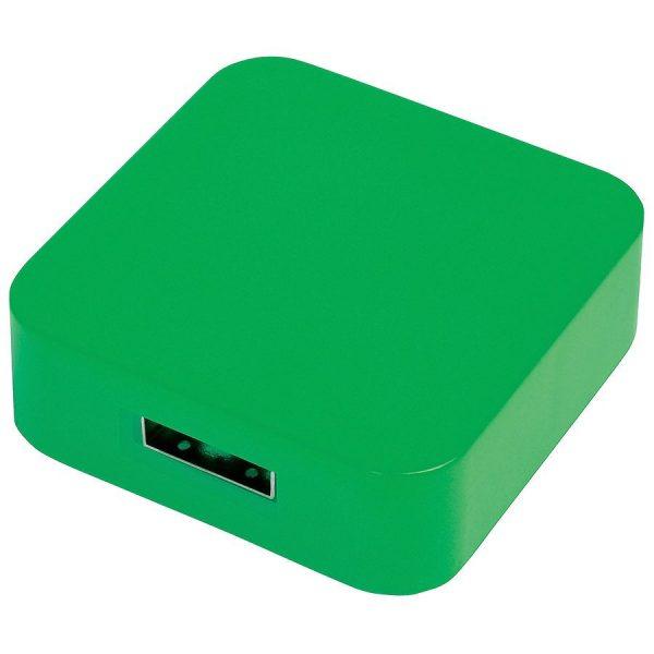USB flash-карта Akor (8Гб) зеленая с нанесением логотипа