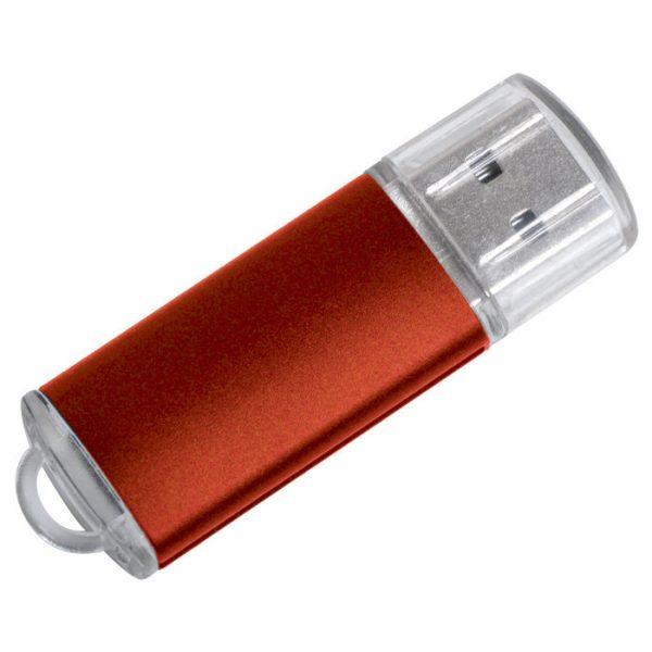 USB flash-карта Assorti (8Гб) красная с нанесением логотипа