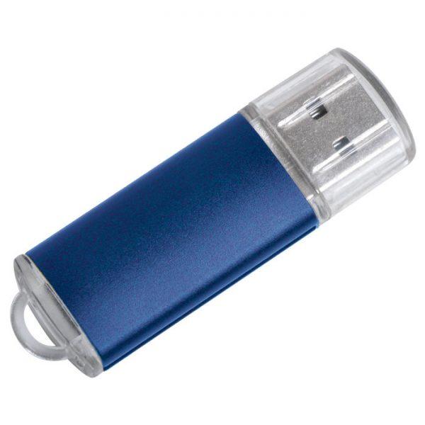 USB flash-карта Assorti (8Гб) синяя с нанесением логотипа