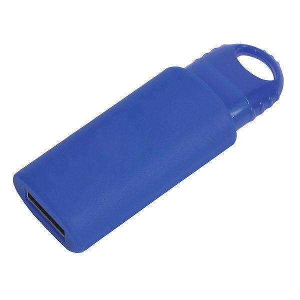 USB flash-карта Fix (8Гб) синяя с нанесением логотипа