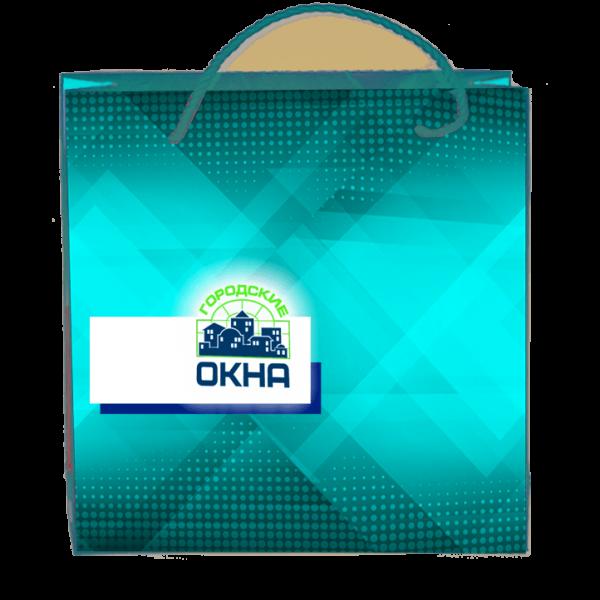 Пакеты с нанесением логотипа компании вариант №9