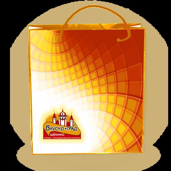 Пакеты с нанесением логотипа компании вариант №11