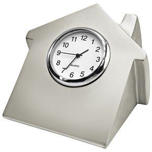 Часы Домик с логотипом