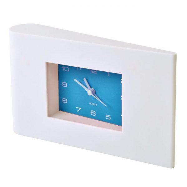 Часы настольные Авангард с будильником с логотипом
