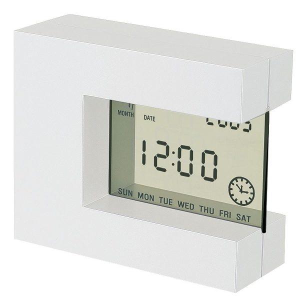 Часы настольные Перевертыш с термометром с логотипом