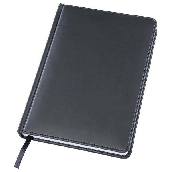 Ежедневник датированный Bliss черный с логотипом