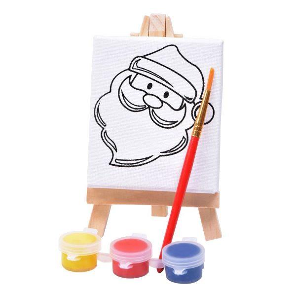 Набор для раскраски Дед Мороз с нанесением логотипа