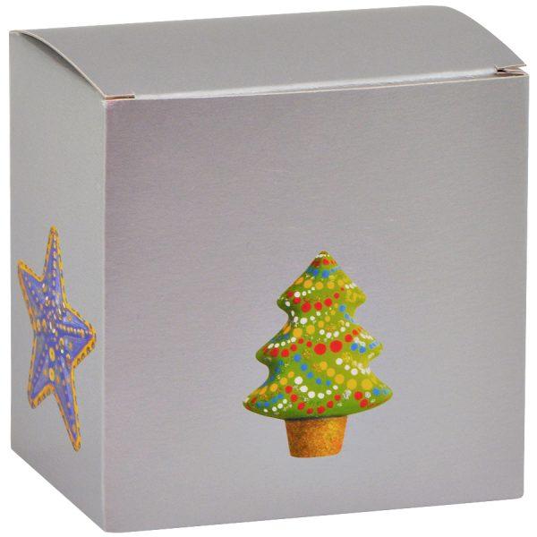 Набор для раскраски ЕЛКА с нанесением логотипа упаковка