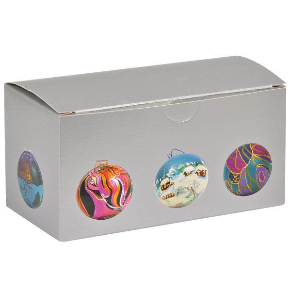 Набор для раскраски ШАР с нанесением логотипа упаковка