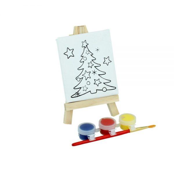 Набор для раскраски Ёлочка с нанесением логотипа