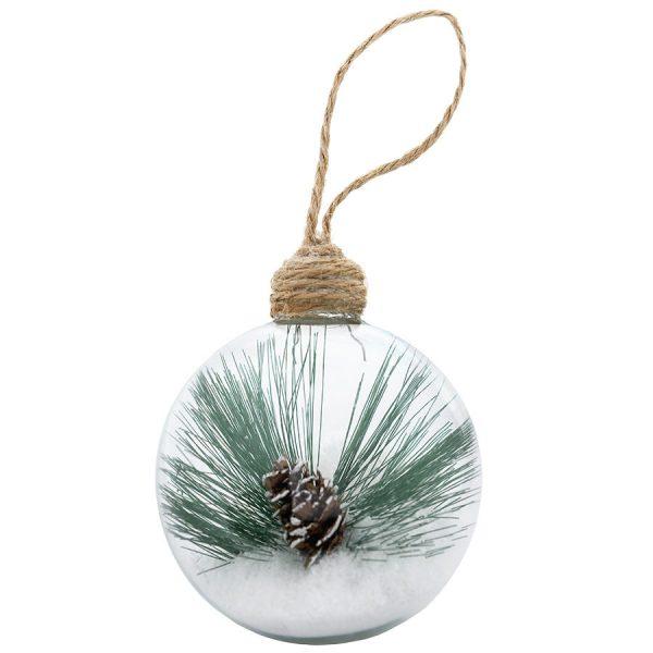 Шар новогодний Twiggy с нанесением логотипа