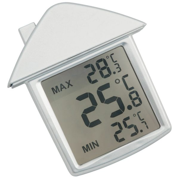 Термометр на присоске Дом с логотипом