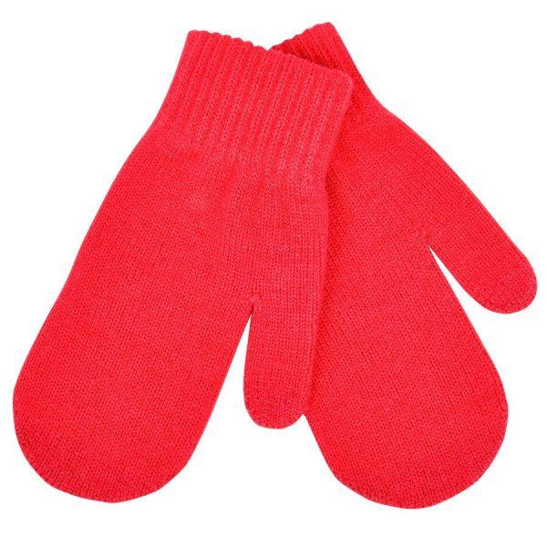 Варежки сенсорные In touch красные с нанесением логотипа