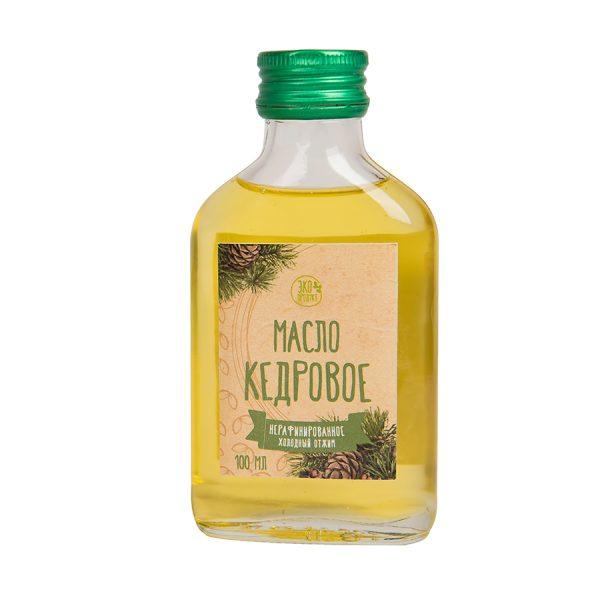 Набор Кедровый бутылка кедрового масла с логотипом