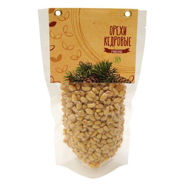 Набор Кедровый бутылка кедровые орешки с логотипом